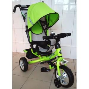 Трехколесный велосипед Best Trike с колесами ПВХ Зеленый