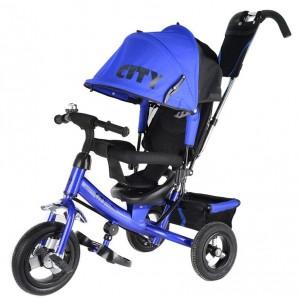 Трехколесный велосипед   City Trike с надувными колесами 10 и 8