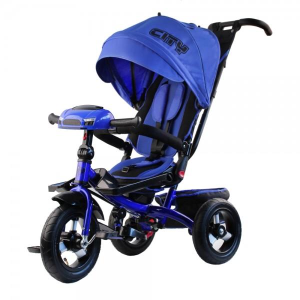 Трехколесный велосипед   City Trike Поворотный